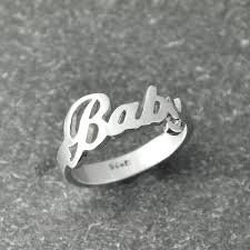 name rings silver images Personalized name rings king edition jpg