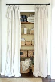 Curtains As Closet Doors Closet Curtains For Closet Doors Closet Door Ideas Curtain Image