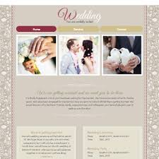 marriage invitation websites wedding invitation website templates creative templat