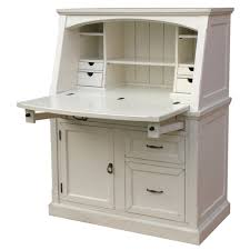Wooden Desks For Sale Coastal Secretary Desk Secretary Desks Desks And Cable Management