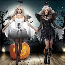compare prices on black angel halloween costume online shopping