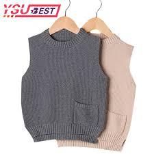 sweaters boys 2018 autumn boys sweaters vest 100 cotton baby cardigan