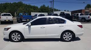 honda white car 2008 honda accord ex l white 7117 in mocksville north carolina