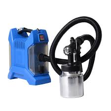 paint sprayer homcom 650w hvlp handheld commercial electric paint sprayer spray