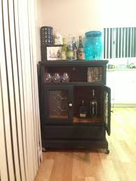 Ikea Bar Cabinet Furniture Chic Floating Liquor Cabinet Ikea Made Of Wood With