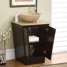 com silkroad exclusive travertine stone single sink vessel bathroom vanity with storage cabinet 22 inch home kitchen