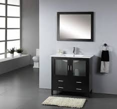 cool bathroom vanity mirrors with simple cabinet also sink beside