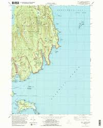Topography Map Acadia Maps Npmaps Com Just Free Maps Period