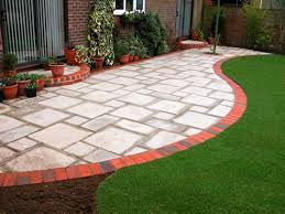 Patio Designs Photos This Pattern Works But With Grass As Grout Patio Ideas