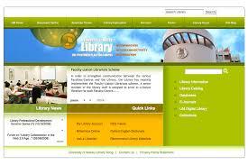 web page design of macau library webpage design lao s portfolio