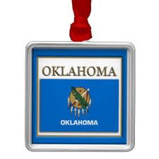 oklahoma state flag ornaments keepsake ornaments zazzle