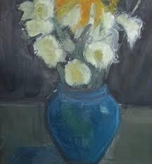 The Blue Vase Dawn Sidoli Neac Rwa New English Art Club
