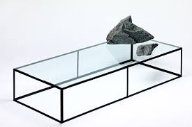 stone and glass coffee table futuristic trends archipelago coffee tables by emmet rock home