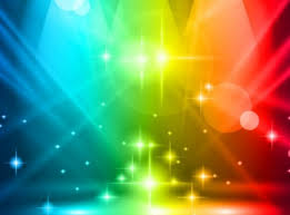 multicolored lights background vector free