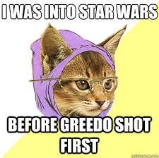 Star Wars Cat Meme - i was into star wars cat meme cat planet cat planet