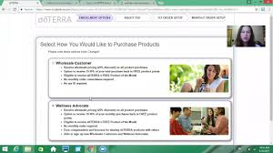 Doterra February 2017 Product Of The Month How To Enroll Someone In To Doterra Youtube