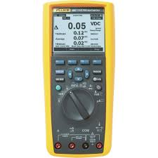 handheld multimeter digital fluke 287 eur calibrated to
