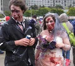 Zombie Chef Halloween Costume Christine Demerchant Walks 2013 Toronto Zombie Walk
