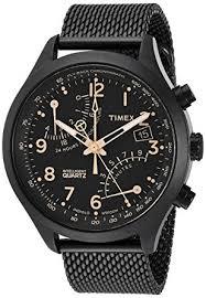 mesh bracelet watches images Timex men 39 s tw2r55000 intelligent quartz fly back jpg