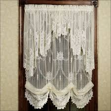 How To Make A No Sew Window Valance Living Room Fabulous Balloon Valance Window Treatments How To