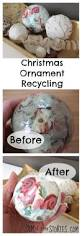 christmas ornament recycling sum of their stories