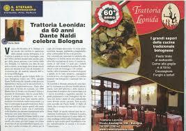 cuisine s 60 bolognese restaurant bologna trattoria leonida