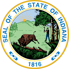 Indiana Flag Images Seal Of Indiana Wikipedia