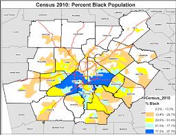 Metro Atlanta Map Gentrification Black Atlanta U0027s Worst Enemy Kimberly U0027s Blog