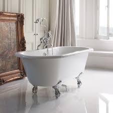 burlington windsor roll top bath with luxury feet 1500 u0026 1700mm