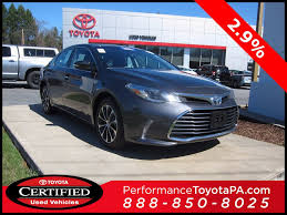 lexus or toyota avalon used 2016 toyota avalon for sale sinking spring pa