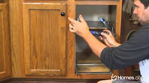 homes com diy experts how to install roll out cabinet drawers homes com diy experts how to install roll out cabinet drawers youtube