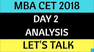 s day m m s day 2 analysis important advice mba cet 2018 dte mba