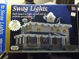 Outdoor Swag Christmas Lights