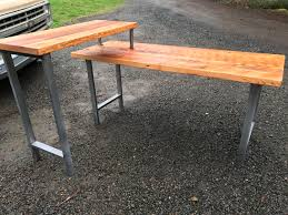 Pipe Desk Extra Thick Pipe Reclaimed Wood Desk Industrial Desk by L Shaped Desk Black Iron Pipe L Shaped Desk Reclaimed Wood