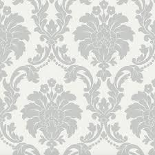 arthouse opera romeo damask wallpaper 693503 u2013 grey textura