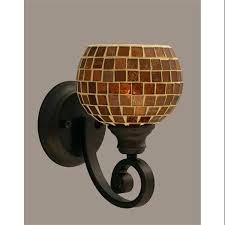 Glass Wall Sconces For Candles Sconce Mosaic Glass Wall Sconces 2 Glass Amber Mosaic Wall