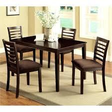 wonderful roy dark espresso birch veneers extension dining table