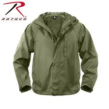 packable cycling rain jacket rothco packable rain jacket in olive drab can fold up and pack