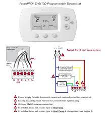 honeywell non programmable thermostat wiring diagram honeywell