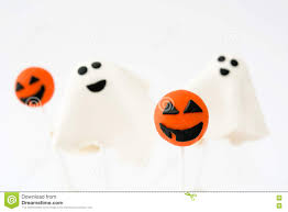 free halloween images on white background halloween cake pops with phantom and pumpkin shape isolated on