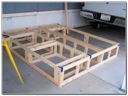 king size wood bed frame plans pallet bed frame diy king size wood