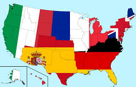 Spain France Map by Usa Population Measured By Germany France Italy Spain And The