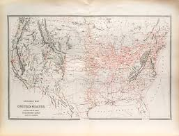 Map States by Antique Map United States Railroad Map 1884 Scrmshaw Gallery