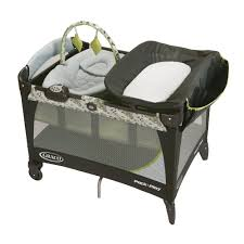 Graco Lauren Signature Convertible Crib Rustic Cherry by Graco Pack U0027n Play With Newborn Napper Station Lx Play Yard