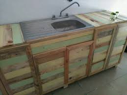 kitchen cabinets made out of pallet wood pallet wood kitchen counter with sink 101 pallets