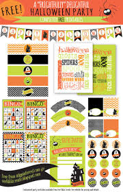 Halloween Birthday Invitations Printable 1487 Best Halloween Printables 2 Images On Pinterest Halloween