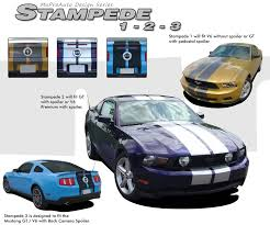 2012 ford mustang kits mustang stampede oem style racing stripes 10 inch wide lemans