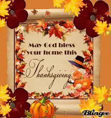 wishing everyone a blessed and happy thanksgiving festive