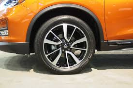 nissan rogue with rims 2017 nissan rogue heads to dealers with 24 760 starting price