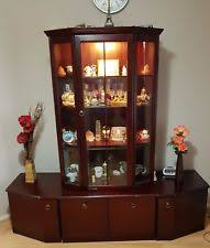 dining room display cabinet ebay